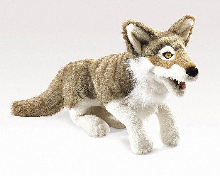 Folkmanis Handpuppe Wolf