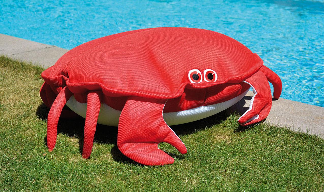 Krabbe Chill- und Kuscheltier