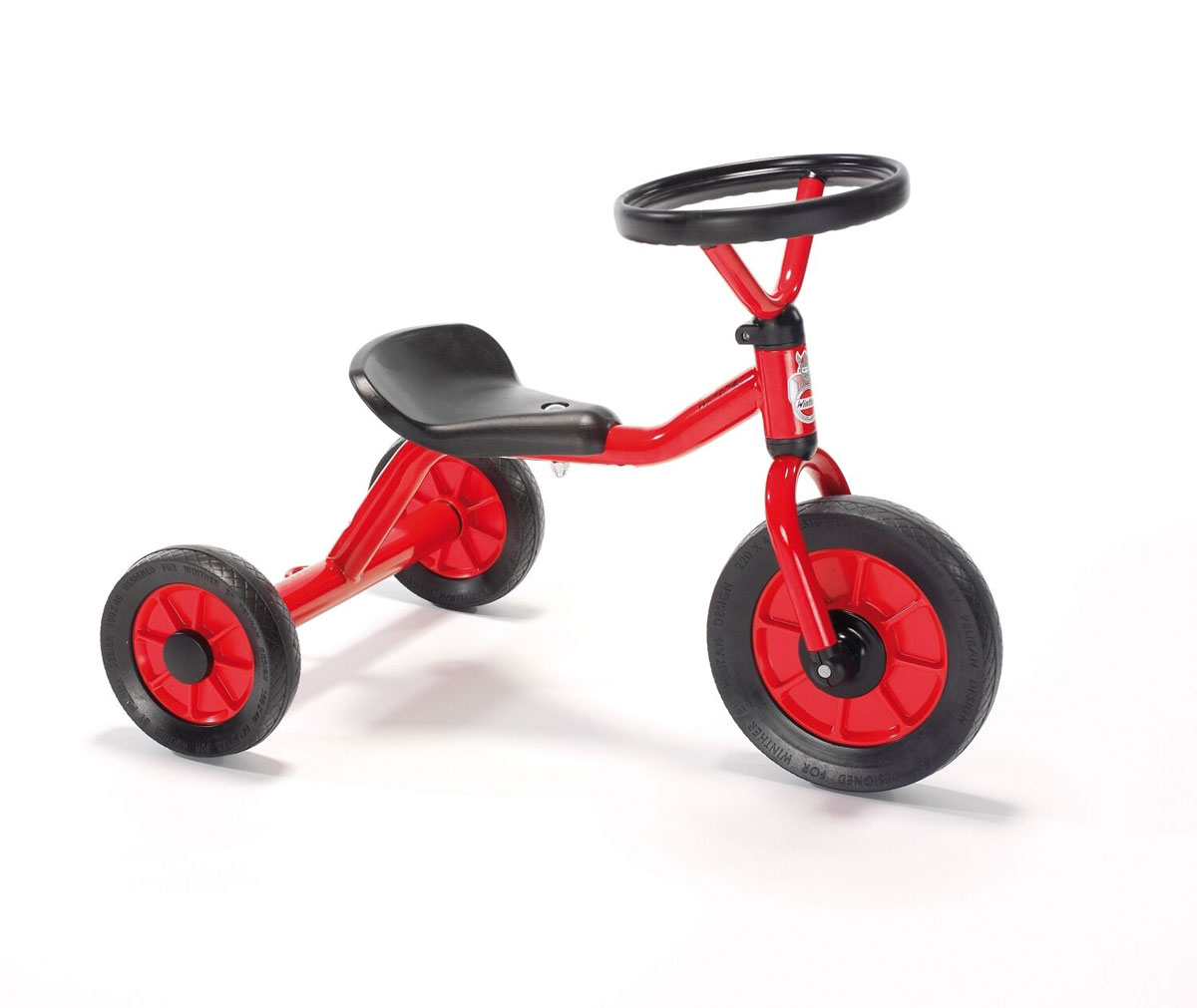 Winther Mini Rutschdreirad mit Lenkrad - Kinderfahrzeug 1-3 Jahre
