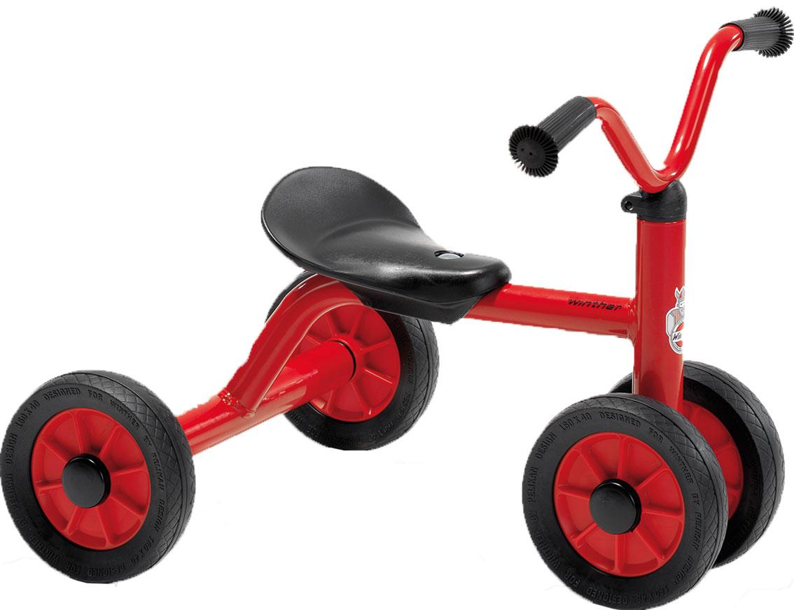 Winther Mini Rutsch Dreirad - Schiebefahrzeug für Kinder 1-3 Jahre