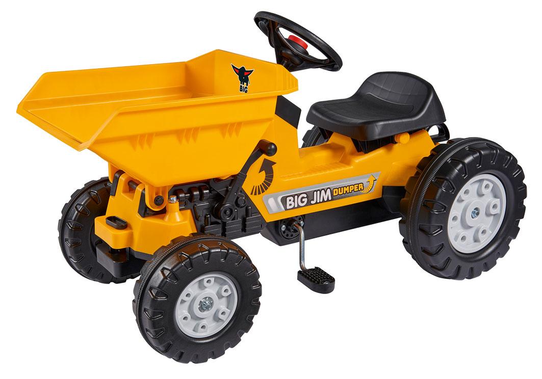 Traktor Dumper gelb BIG