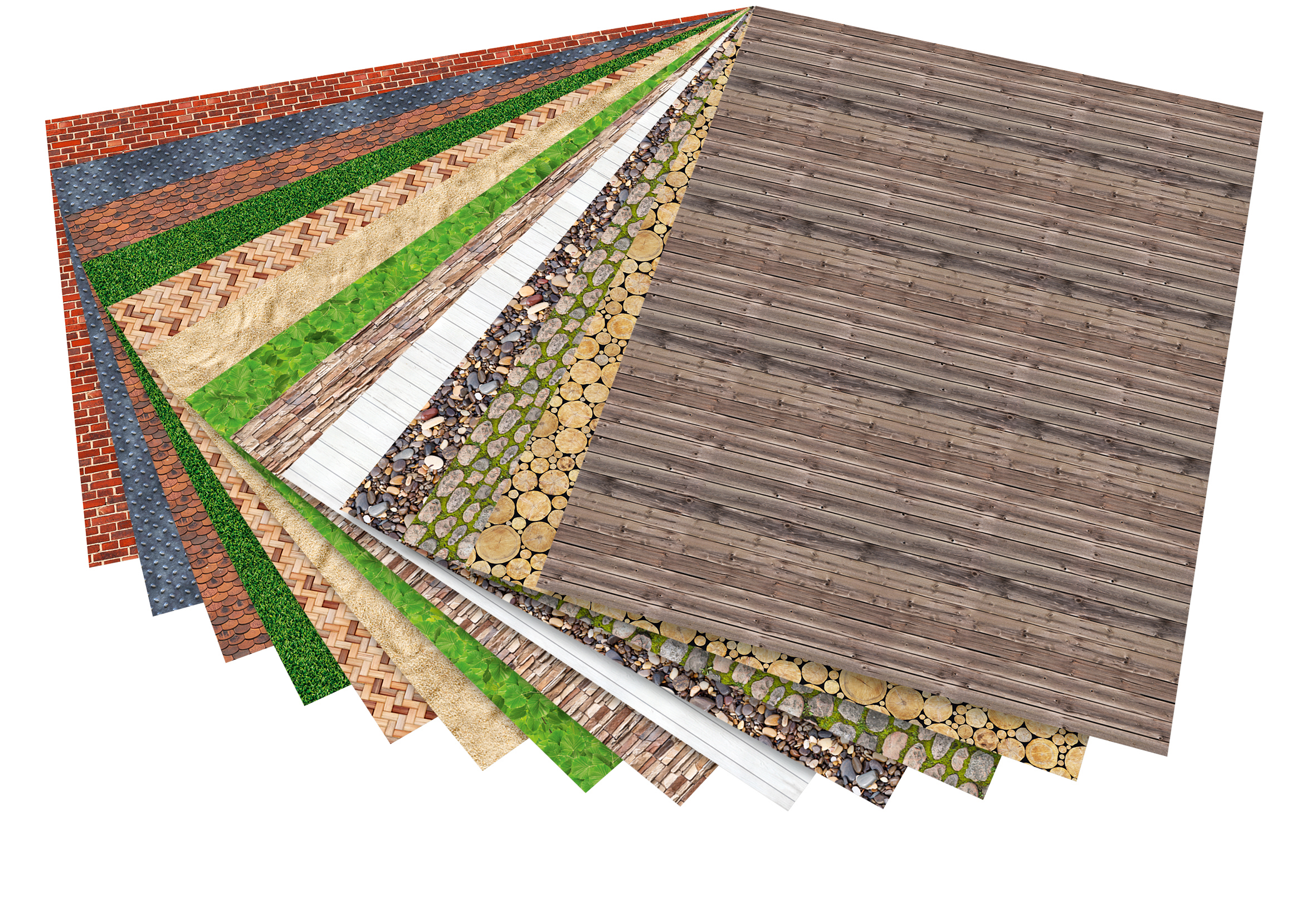 "Motivkarton ""Strukturen"" 300g/m², 50x70cm"