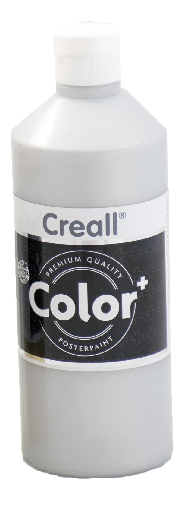 Fingerfarbe Creall silber 500ml