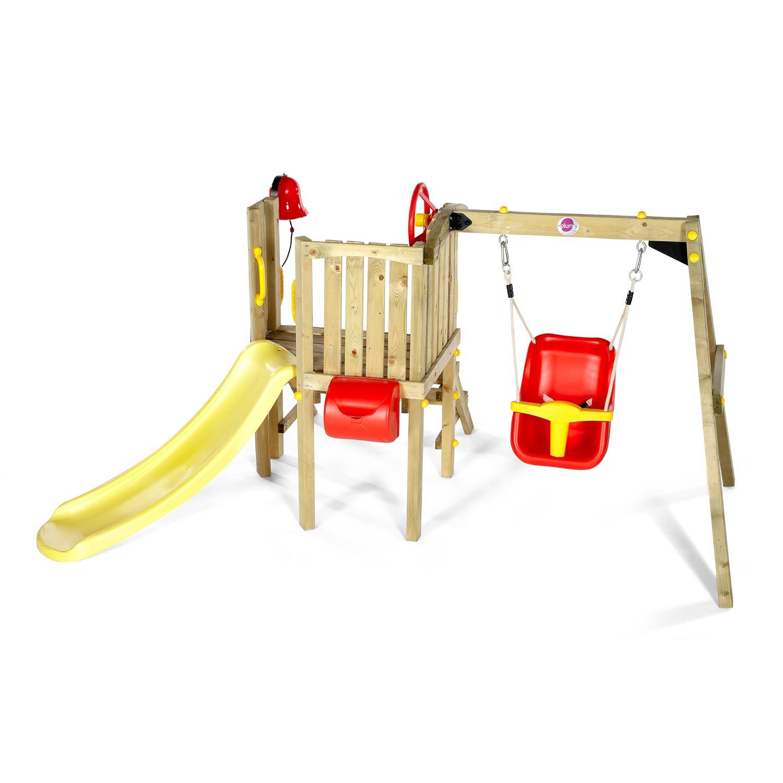 Plum Kleinkinder-Turm mit Babyschaukel