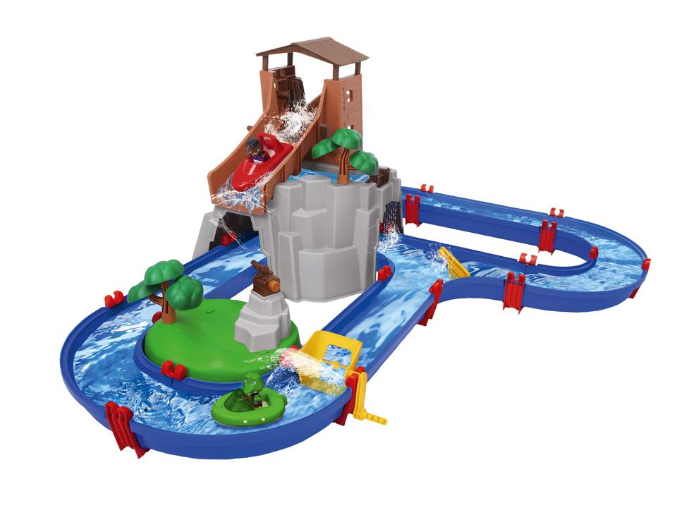 BIG Aqua Play Wasserbahn Adventure - Abenteuerland