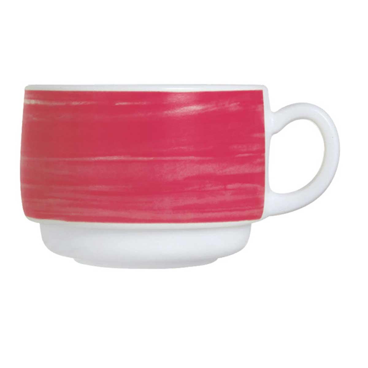 "Tasse 0,19l, Hartglas-/ Opalgeschirr ""Brush"""