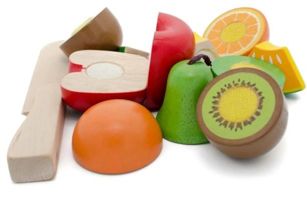 Früchte 6 tlg. zum Schneiden