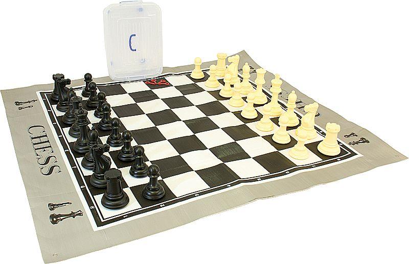 Schach-Dame Spiel - Outdoor