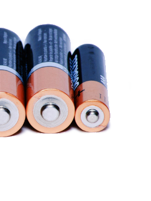 Mega-Einkaufsparadies Batterien