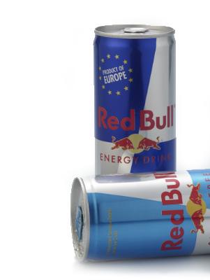 Mega-Einkaufsparadies Energy Drinks