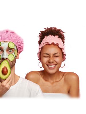 Mega-Einkaufsparadies Gesichtsmasken