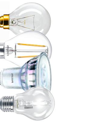 Mega-Einkaufsparadies Leuchtmittel