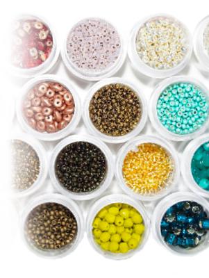 Mega-Einkaufsparadies Perlen, Pailletten & Filz