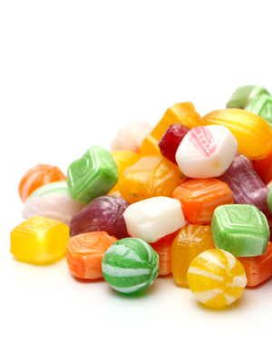 Mega-Einkaufsparadies Bonbons