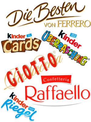 Mega-Einkaufsparadies Unsere Ferrero Boxen