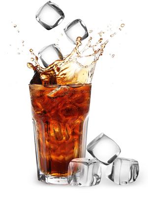 Mega-Einkaufsparadies Cola und Limonade