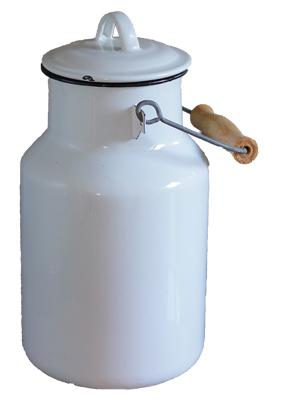 Mega-Einkaufsparadies Milch