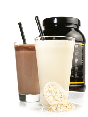 Mega-Einkaufsparadies Protein-Pulver und Shakes