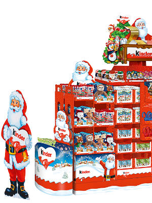 Mega-Einkaufsparadies Weihnachten mit Ferrero