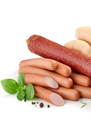 Mega-Einkaufsparadies Fleisch und Wurstwaren