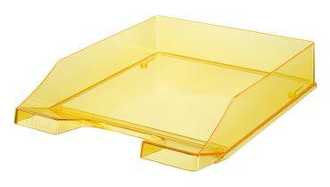 Briefablage gelb transluzent