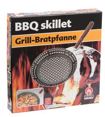 Grill-Bratpfanne 32cm antihaft