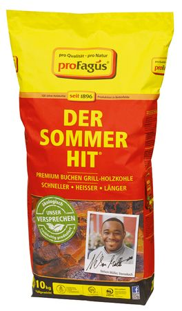 Grillholzkohle Sommer-Hit