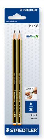 Bleistift Noris 2B x 2 BK