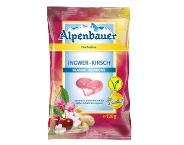 Alpenbauer Klassik Ingwer Kirsch Bonbons 120g