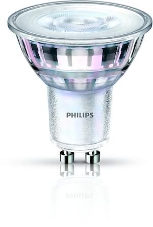 CorePro LED spot 4-35W GU10 827 36D