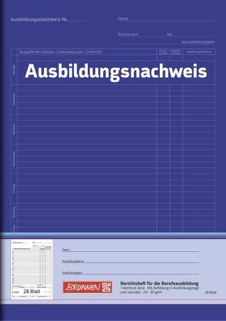 Ausbildungsnachweis-Heft