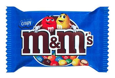 m&m's Crispy,Schaukarton