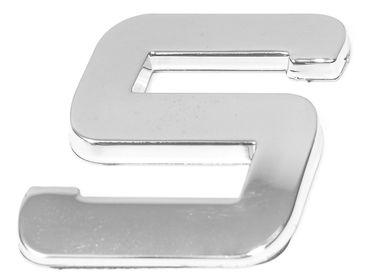 """3D-CAR Logo Buchstabe """"S"""""""