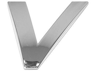 "3D-CAR Logo Buchstabe ""V"""