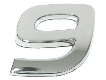 """3D-CAR Logo Zahl """"9"""""""