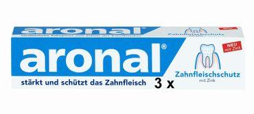 Aronal Zahnpasta 3er Pack 225ml