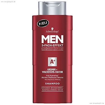 Men Arginin Wachstums-Faktor Shampoo 250 ml
