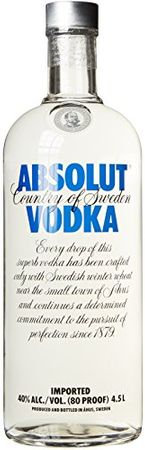Absolut Wodka (1 x 4.5 l)