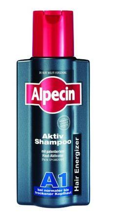 Alpecin 21101 Aktiv Shampoo für normales Haar, 250 ml
