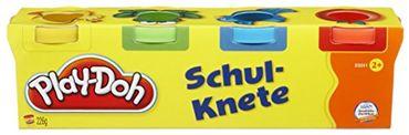 Hasbro Play-Doh 23241100 - Schulknete Mini 4er Pack, Knete