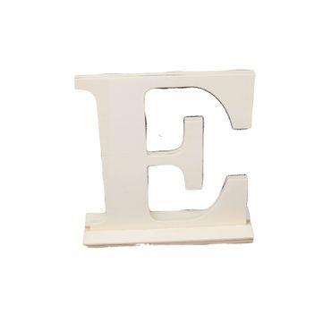 Holzbuchstabe E 15 cm