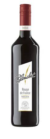 Blanchet Rouge de France trocken mit fruchtigem Aroma 750ml 6er Pack