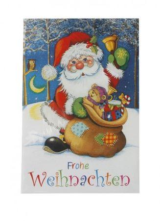Karte Frohe Weihnachten Menge:1Stück