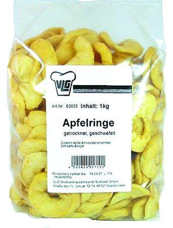 Apfelringe, 1er Pack (1 x 1000 g)