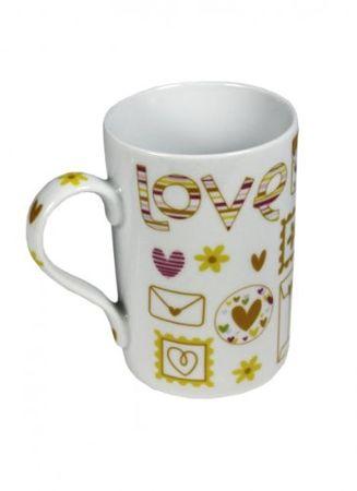 Lovetasse gelb Menge:1Stück