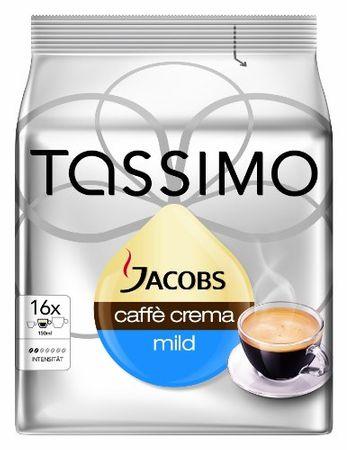 Bosch Jacobs Caffee Crema sanft&mild, 626057