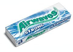 Wrigley's Airwaves Strong Eukalyptus Menthol 14g