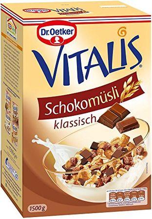 Dr. Oetker Vitalis Großpackung Schoko Müsli