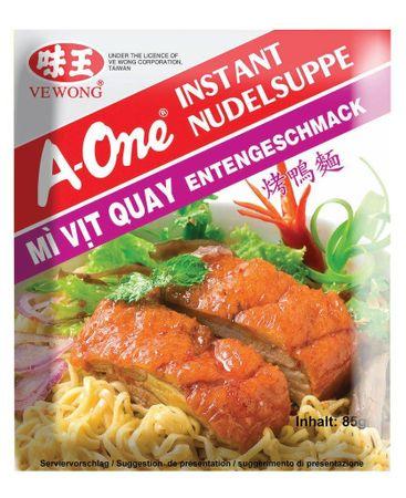 A-One Instant Nudelsuppe Entengeschmack, 85 g