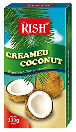 [ 200g ] RISH 100% Pure Kokosnusscreme Kokoscreme Creamed Coconut